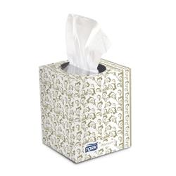 SCA Tissue of North America - TF6910A - Tork Premium Facial Tissue- Cube Box image