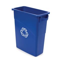 Rubbermaid - 1971257 - 15 7/8 gal Slim Jim® Recycle Can image