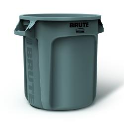Rubbermaid - FG261000GRAY - 10 gal BRUTE® Trash Can image