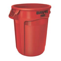 Rubbermaid - FG263200RED - 32 gal Red Brute® Trash Can image
