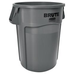 Rubbermaid - FG264360GRAY - 44 gal Gray BRUTE® Trash Can image