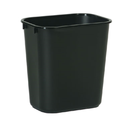 Rubbermaid - FG295500BLA - 13 5/8 qt Black Wastebasket image