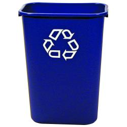 Rubbermaid - FG295773BLUE - 10 gal Recycling Can image