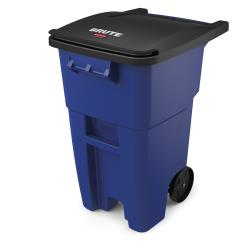 Rubbermaid - FG9W2700BLUE - 50 gal Blue BRUTE® Rollout Container image