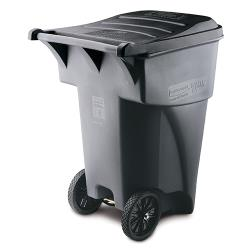 Rubbermaid - FG9W2200GRAY - 95 gal Brute Roll-Out Container image