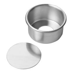 Focus Foodservice - 90ACC32 - 3 in x 2 in Aluminum Cheesecake Pan image