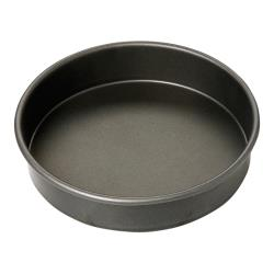 Focus Foodservice - 960629 - 9 in x 2 in Non-Stick Cake Pan image