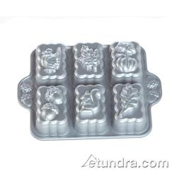 Nordic Ware - 84402 - Commercial Grade (6) Fall Harvest Mini Loaf Pan image