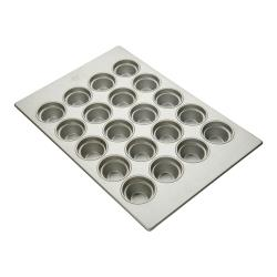 Focus Foodservice - 904555 - 20 - 4 1/8 in Large Crown Muffin Pan image