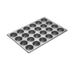 Focus Foodservice - 905525 - (24) 2 3/4 in Cupcake Pan image