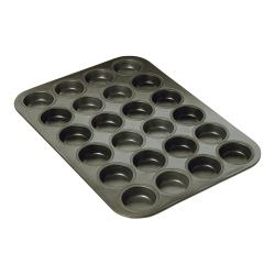 Focus Foodservice - 969024 - (24) 2 1/16 in Non-Stick Mini Muffin Pan image
