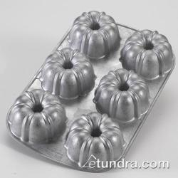 Nordic Ware - 50602 - Commercial Grade (6) Cup Mini Bundt Cake Pan image