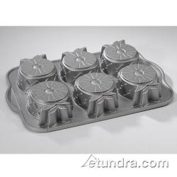 Nordic Ware - 58448 - (6) Upside Down Pineapple Cake Pan image