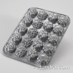 Nordic Ware - 58502 - Commercial Grade (20) Flower Petits Fours Pan image