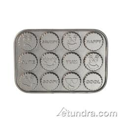 Nordic Ware - 84902 - Commercial Grade (12) Funny Faces Cakelet Pan image