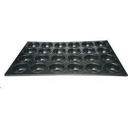 Winco - AMF-24NS - (24) 2 3/4 in Non-Stick Muffin Pan image