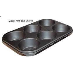 Winco - AMF-6NS - (6) 3 1/2 in Muffin Pan image