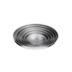 American Metalcraft - A4004 - Mini Straight Sided Aluminum Pizza Pan image
