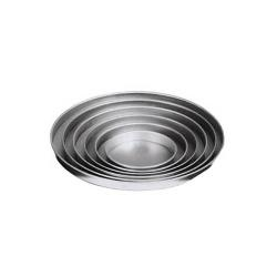 American Metalcraft - A4008 - 8 in x 1 in Deep Pizza Pan image