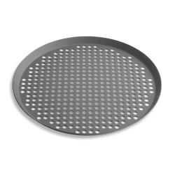 Vollrath - PC10FPHC - 10 in Fully Perforated Pizza Pan image