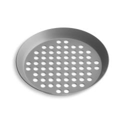 Vollrath - PC11XPHC - 11 in Extra Perforated Pizza Pan image