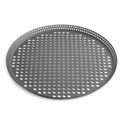 Vollrath - PC14FPHC - 14 in Fully Perforated Pizza Pan image
