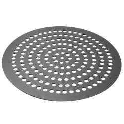 Carlson Products - CP-11DISK-DPA-HC - 11 in Perforated Aluminum Pizza Disk image