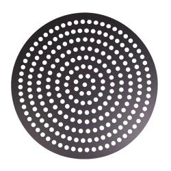 Carlson Products - CP-11HMDISK-HC-PS - 11 in Perforated Hard Coat Pizza Disk image