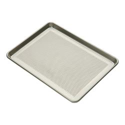 Focus Foodservice - 900857 - 1/2 Size 16 Gauge Perforated Aluminum Sheet Pan image