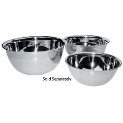 Winco - MXB-800Q - 8 qt Stainless Steel Mixing Bowl image