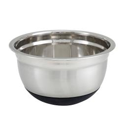 Winco - MXRU-500 - 5 qt Mixing Bowl With Silicone Base image