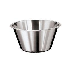 World Cuisine - 12580-29 - 5 1/4 qt Stainless Steel Mixing Bowl image