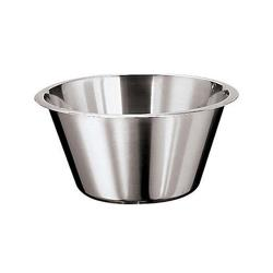 World Cuisine - 12580-30 - 6 3/8 qt Stainless Steel Mixing Bowl image