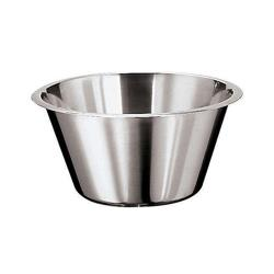 World Cuisine - 12580-31 - 8 1/2 qt Stainless Steel Mixing Bowl image