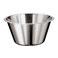 World Cuisine - 12580-45 - 26 1/2 qt Stainless Steel Mixing Bowl image