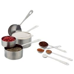 Focus Foodservice - 8343 - Measuring Cup and Spoon Set image