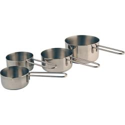Winco - MCP-4P - Measuring Cup Set image