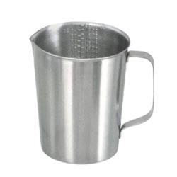 Adcraft - HG-32 - 32 oz Stainless Steel Graduated Measuring Cup image