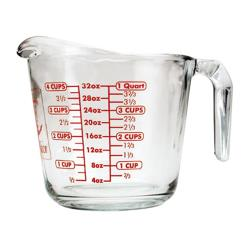 Anchor Hocking - 55178OL - 32 oz Glass Measuring Cup image