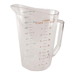 Cambro - 200MCCW135 - 2 qt Camwear® Measuring Cup image