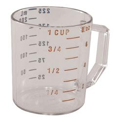 Cambro - 25MCCW135 - 1 cup Camwear® Measuring Cup image