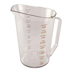 Cambro - 400MCCW135 - 4 qt Camwear® Measuring Cup image