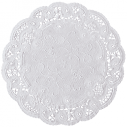 Hoffmaster - 500533 - 8 in French Lace Paper Doilies image