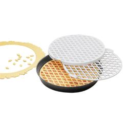 World Cuisine - 47030-30 - 11 7/8 in Round Lattice Cutter image