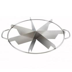 Winco - SCU-7 - 7 Piece Pie Cutter image