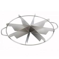 Winco - SCU-8 - 8-Piece Pie Cutter image