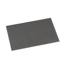 American Metalcraft - BLACKBM1218 - 12 in x 18 in Black Bar Mat image
