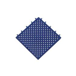 NoTrax - T47S1212BU - 12 in x 12 in Blue Plasti-Tile™ Interlocking Shelf Tile image