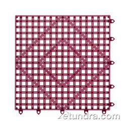 San Jamar - VM5280WN - Versa-Mat 12 in Sq Wine Bar Mat image
