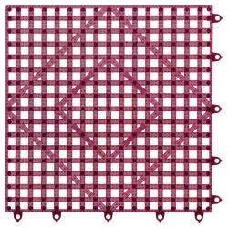 San Jamar - VM5280WN - Versa-Mat® 12 in Sq Wine Bar Mat image